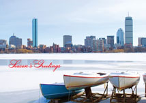Charles River Boston Regional Holiday Cards