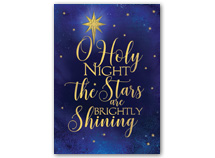 Brightly Shining Christmas Cards