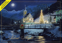Graceful Night Christmas Cards