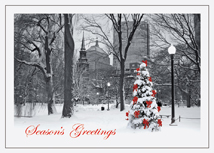 Boston Splendor Christmas Cards